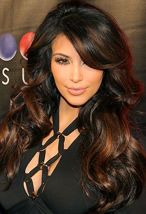 I don't like Kim Kardashian at all, but I have to admit that her hair looks ...