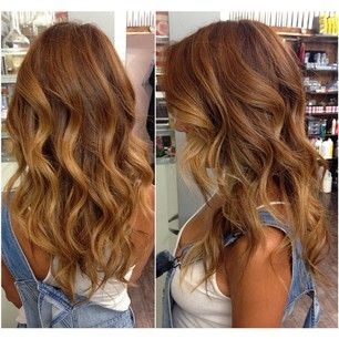 Warm Brown Hair Color