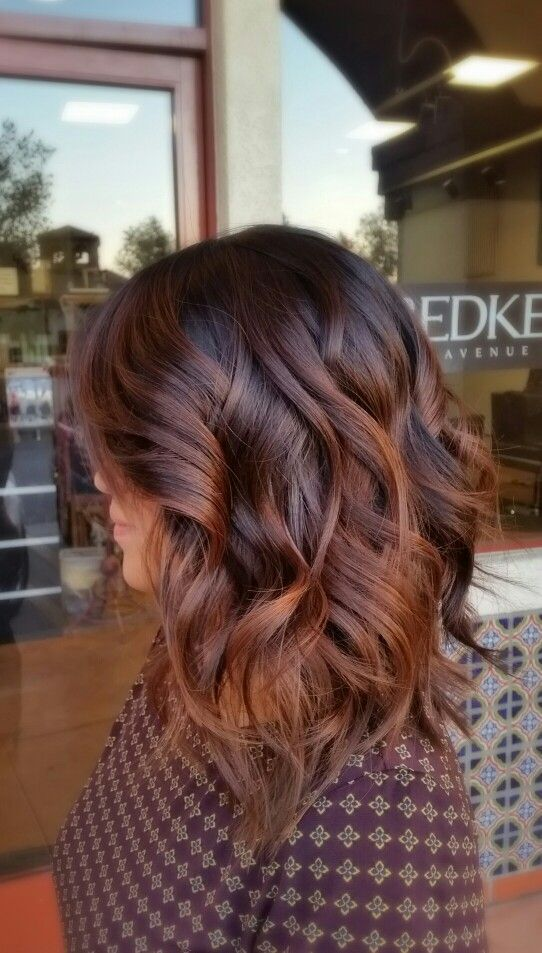 Trendy Hair Color Highlights Loose Waves 18 Easy Fall