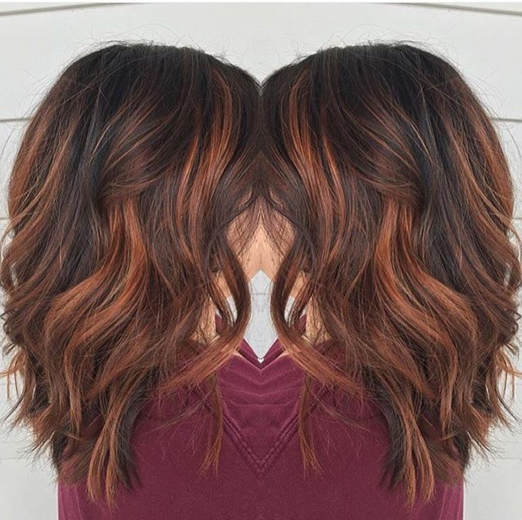Trendy Hair Color Highlights Red Brown Balayage By Rebecca At