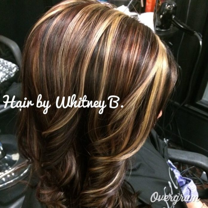 Trendy Hair Color Highlights Reds Blonde Caramels And Browns