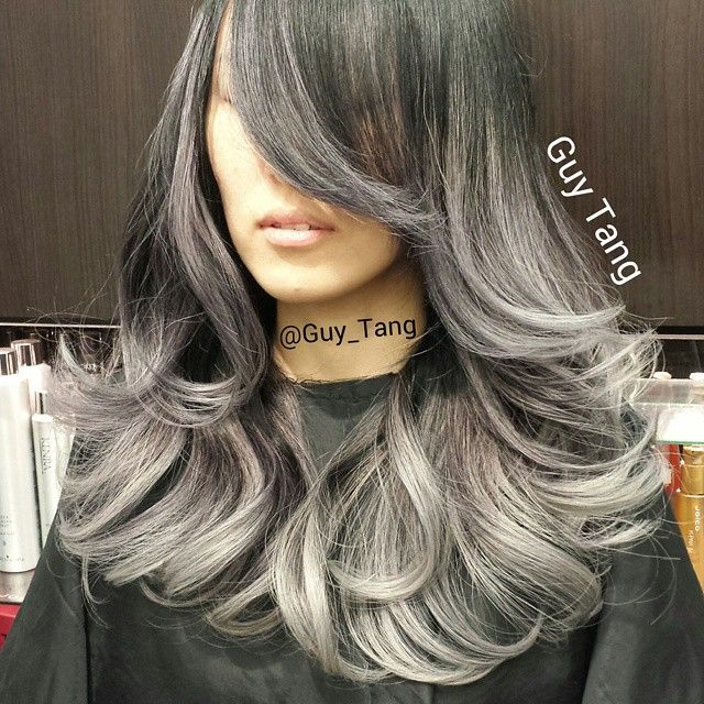 Brown Hair Color With Gray Highlights Best Hair Color 2018