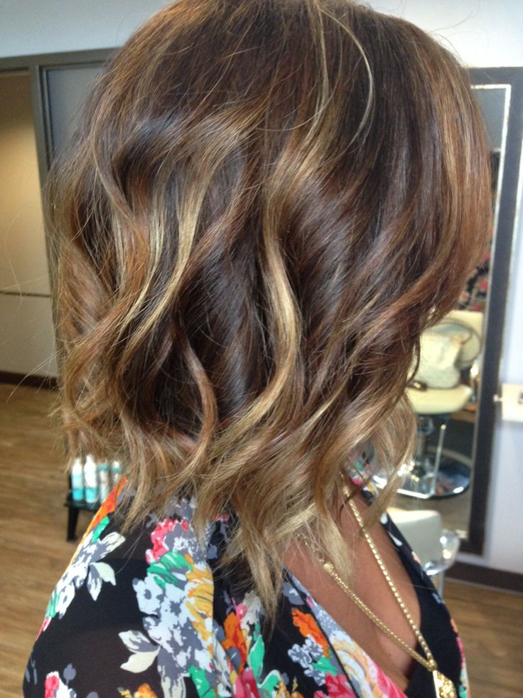 Trendy Hair Color Highlights Subtle Ombr With Bayalage