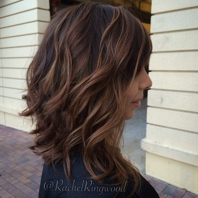Trendy Hair Color Highlights Textured Cut And A Balayage Highlights