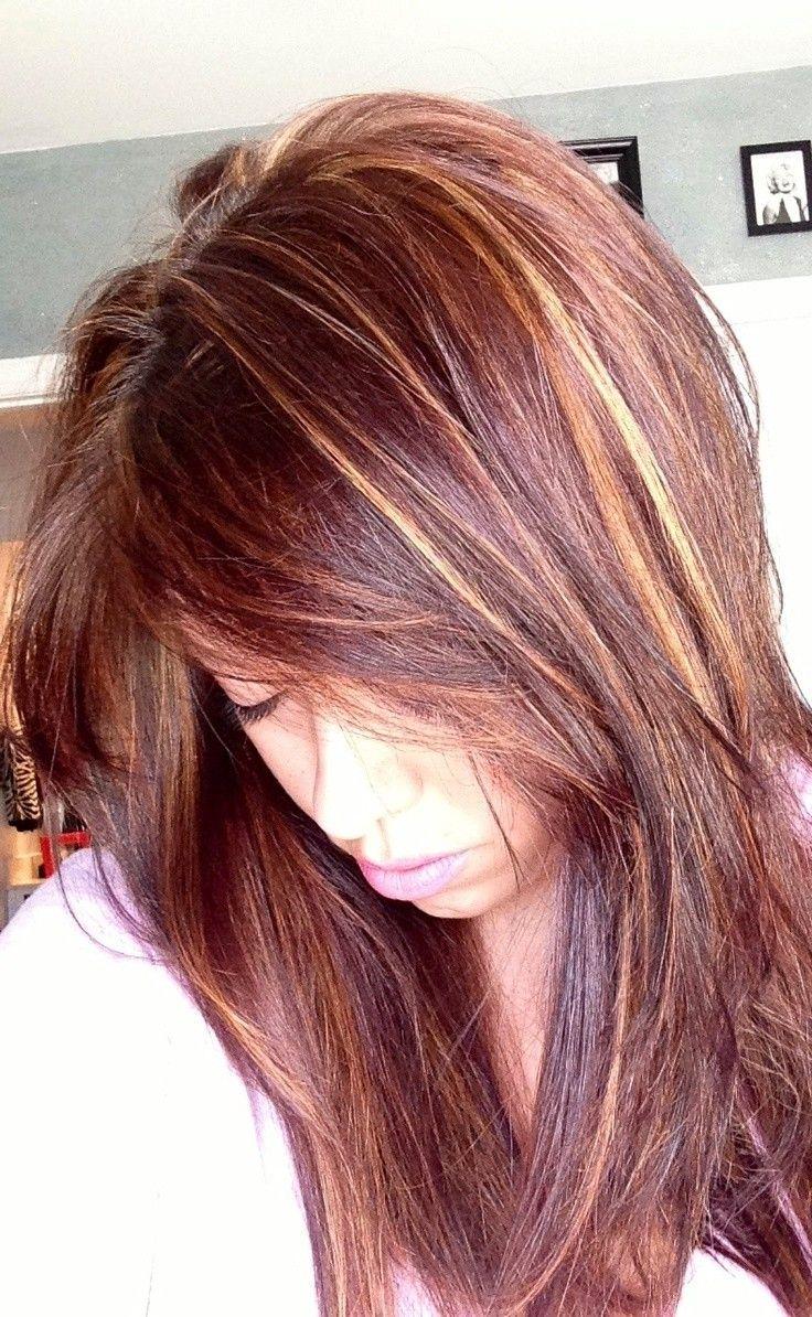Trendy Hair Color Highlights Auburn Hair Color With Highlights