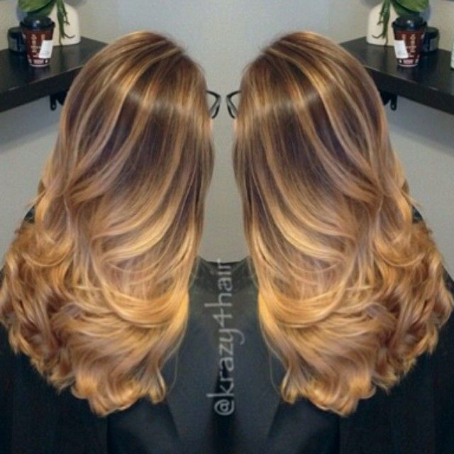 Trendy Hair Color Highlights Balayage Caramel Hair Great Way To