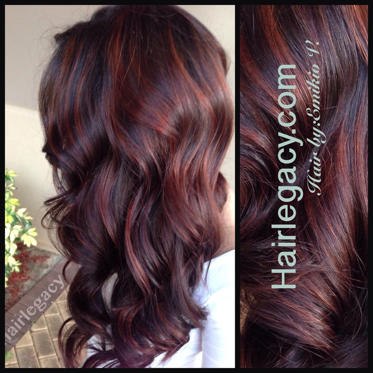Trendy Hair Color Highlights Balayage Red Looks Nice Too