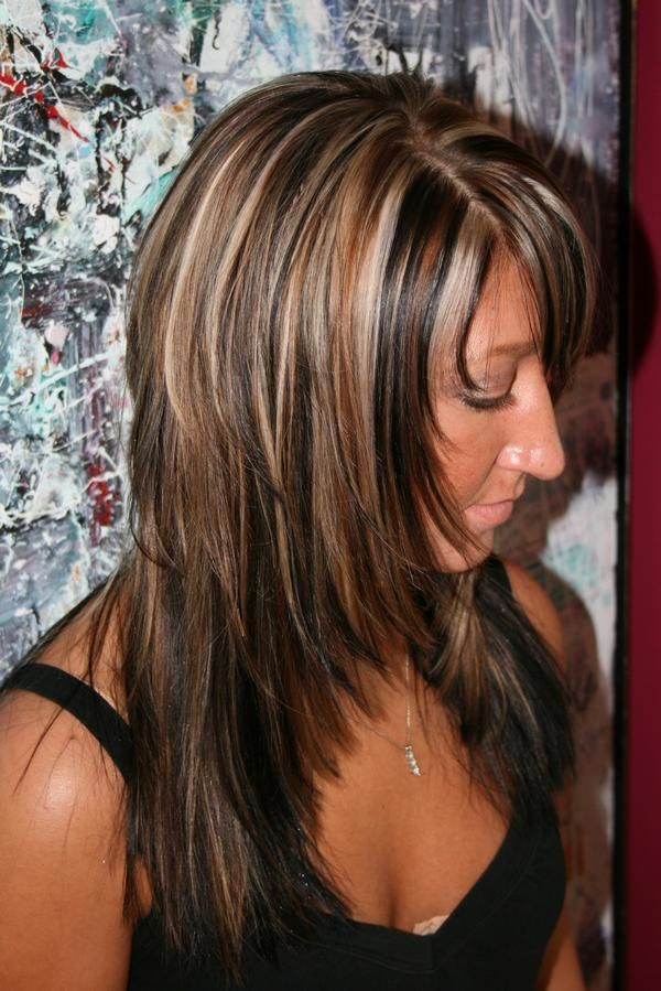 Trendy Hair Color - Highlights : highlight lowlight hair color ...