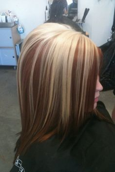 Trendy Hair Color Highlights Long Bob With Lowlights Blonde