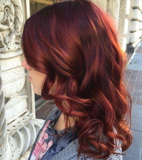 Hair Coloring Inspirational Using Amusing Auburn With Caramel Highlights