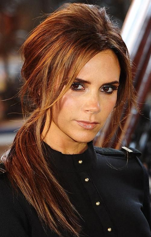 Trendy Hair Color Highlights Love This Dark Auburn Color With