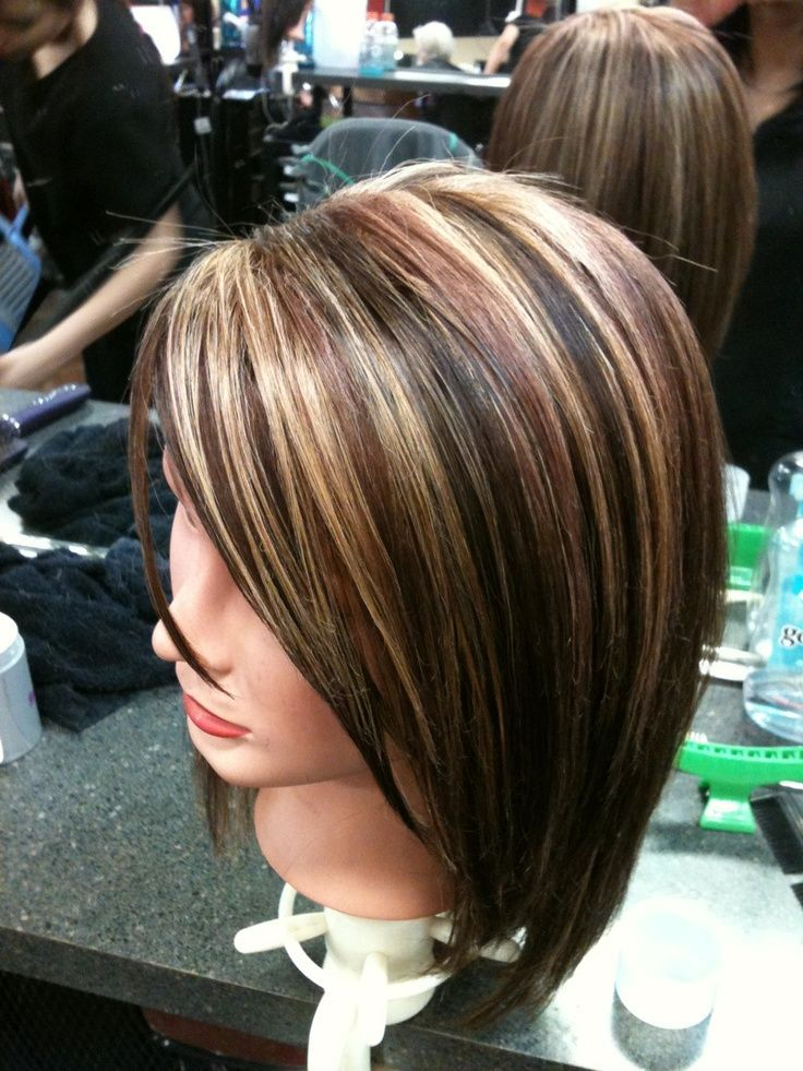 Hair Color Brown With Blonde And Red Highlights 7000 Hair Highlights