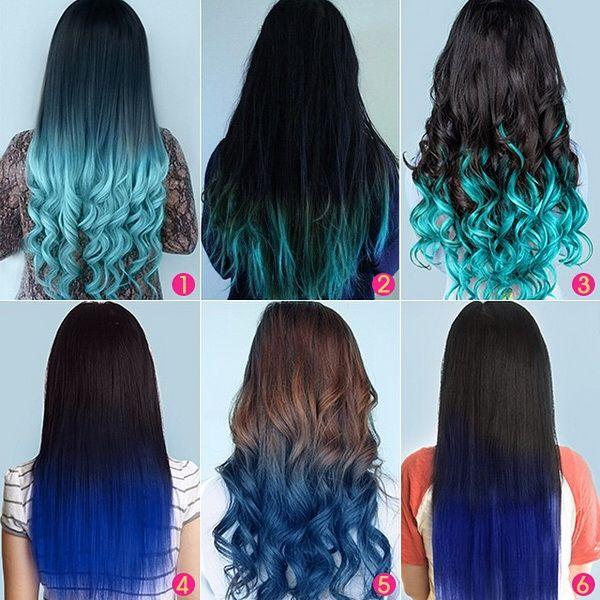 Trendy Hair Color Highlights Vpfashion Ombre Blue Hair