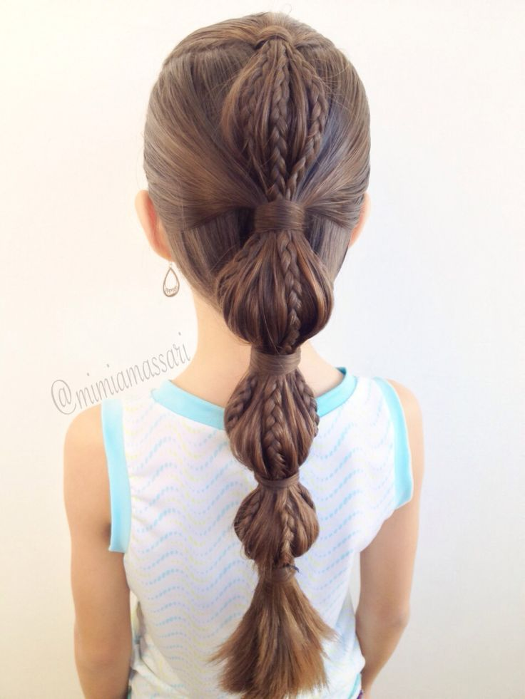 Trendy Haircuts 14 Lovely Braided Hairstyles For Kids Latest Bob