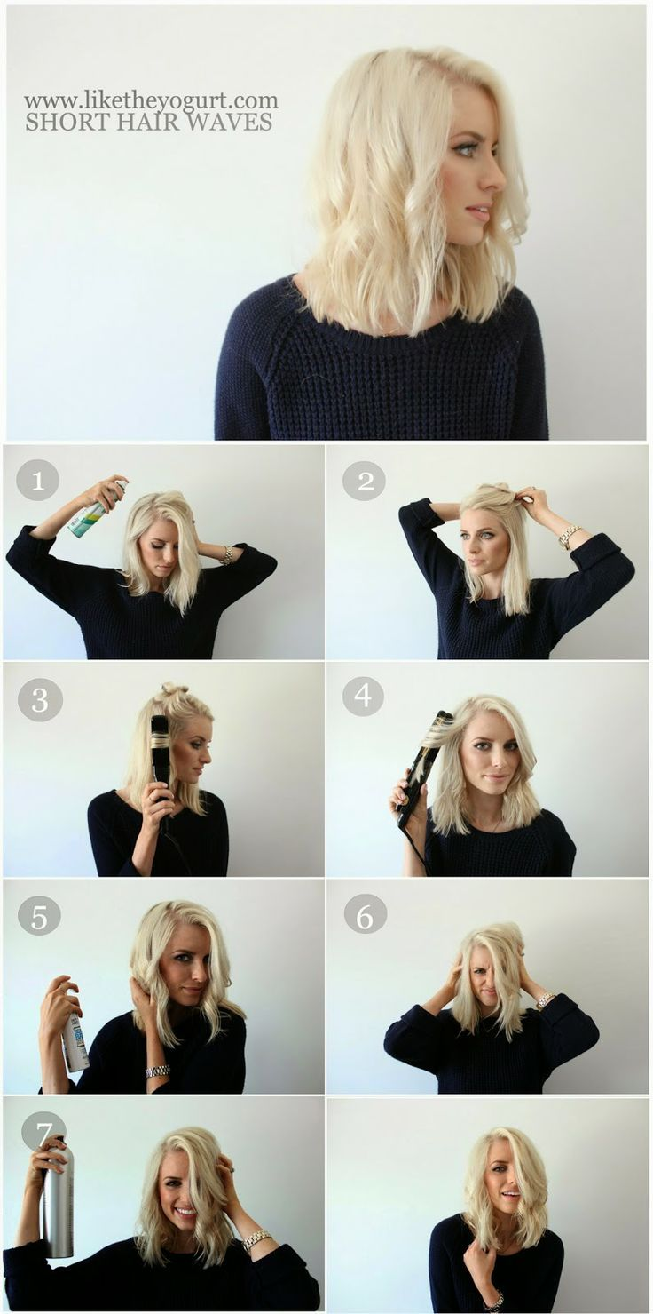 Hair Tutorials: Curls for Short Hair | Latest Bob HairStyles | Page 2