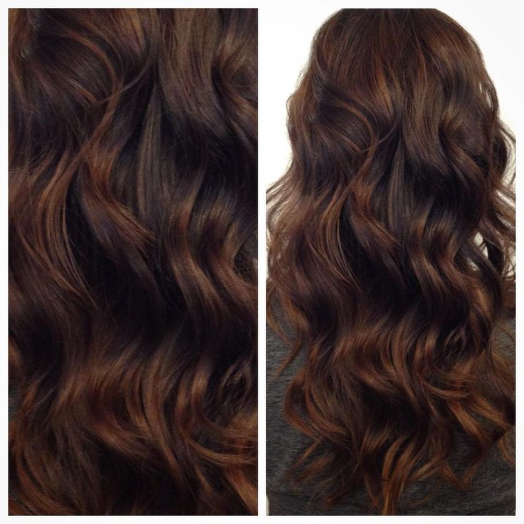 Trendy Ideas For Hair Color Highlights Warm Rich Chocolate By