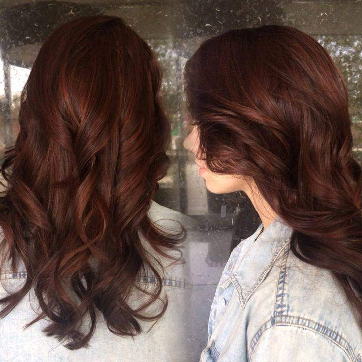 Trendy Ideas For Hair Color Highlights Auburn Brunette With