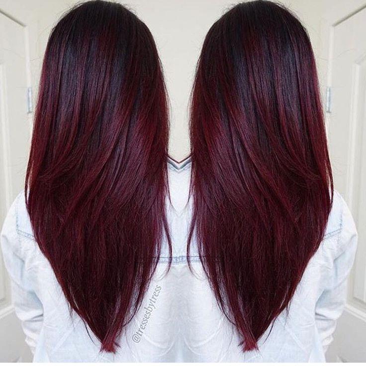 Trendy Ideas For Hair Color - Highlights : Auhh cherry - Beauty ...
