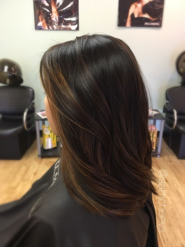 Trendy Ideas For Hair Color Highlights Balayage For Dark Hair