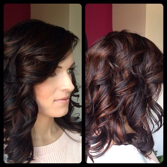 Trendy Ideas For Hair Color Highlights Beautiful Dark Red Color