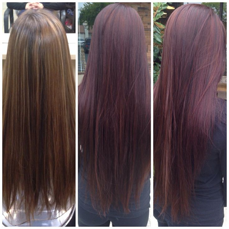 Trendy Ideas For Hair Color Highlights Before And After Deep