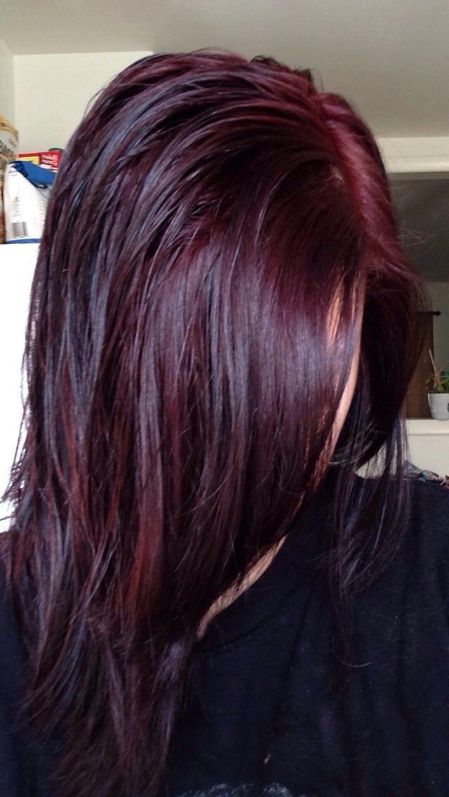 Trendy Ideas For Hair Color Highlights Chocolate Cherry So