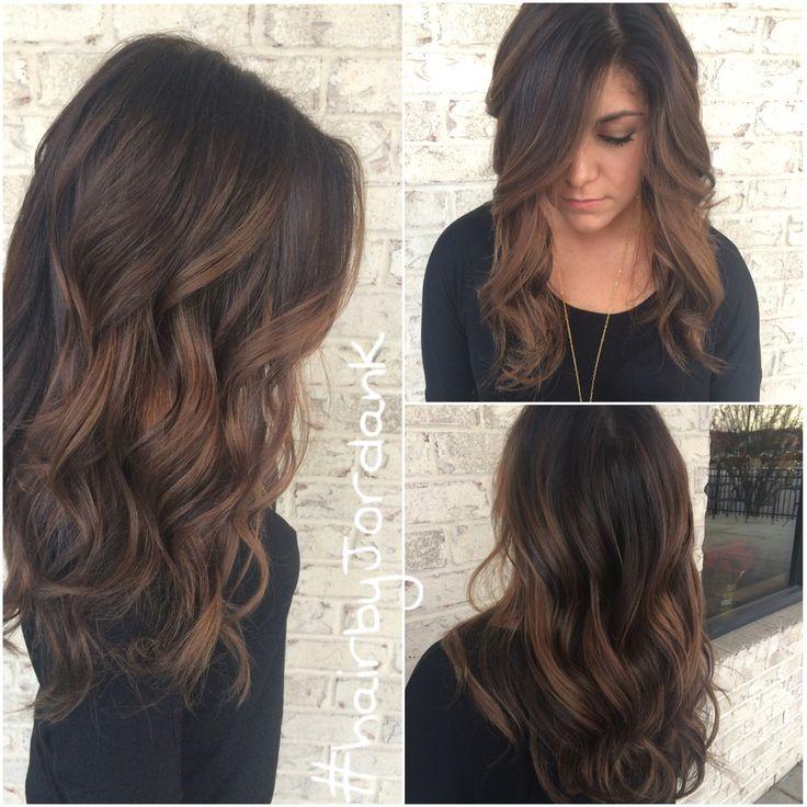 Trendy Ideas For Hair Color Highlights Dark Chocolate Balayage