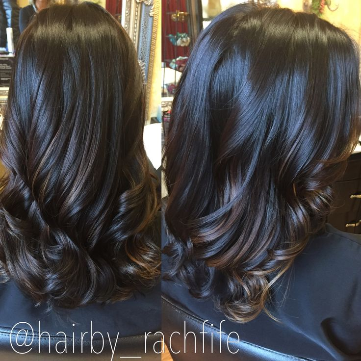 trendy ideas for hair color highlights dark chocolate