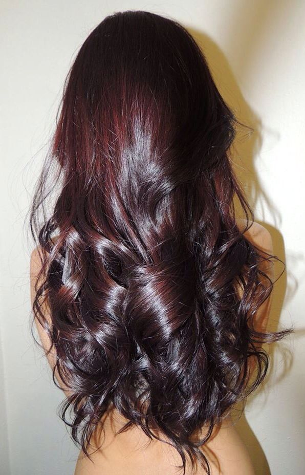 Trendy Ideas For Hair Color Highlights Dark Red Violet Brown