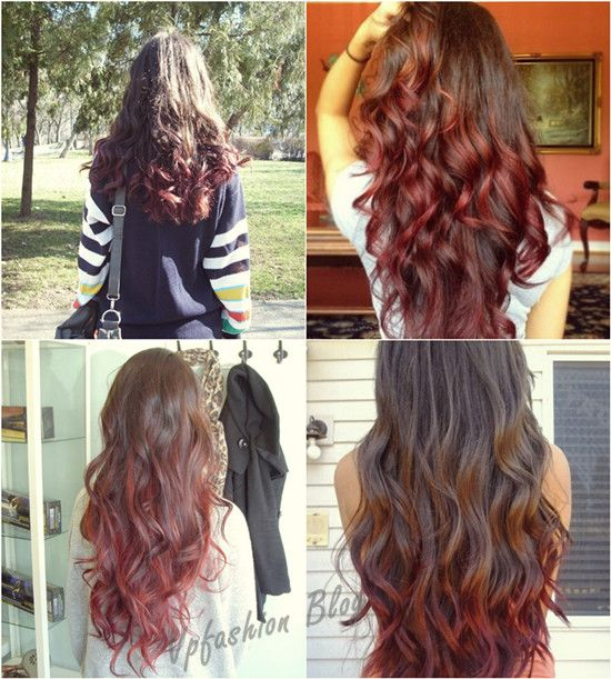 Trendy Ideas For Hair Color Highlights It Is Trend Brown And Red