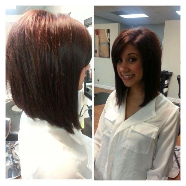 Trendy Ideas For Hair Color Highlights Long Angled Bob Medium