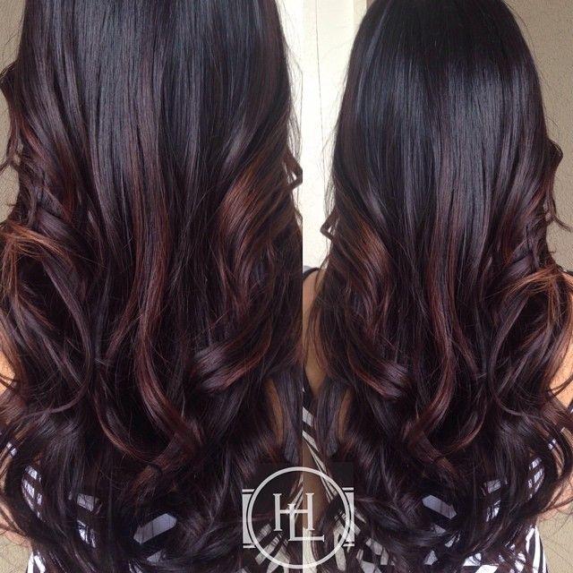Trendy Ideas For Hair Color Highlights Long Dark Hair Jpg Beauty