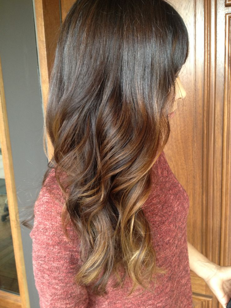 Trendy Ideas For Hair Color Highlights Long Brunette Curls With