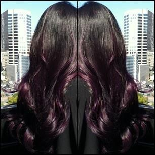 Trendy Ideas For Hair Color Highlights Natural Looking Purple