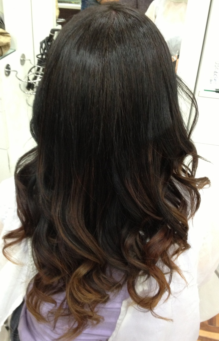 Trendy Ideas For Hair Color Highlights Ombre Hair Dark Ombre