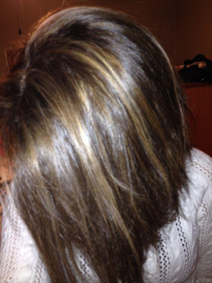 Trendy Ideas For Hair Color Highlights Outcome Of My Hair Dark