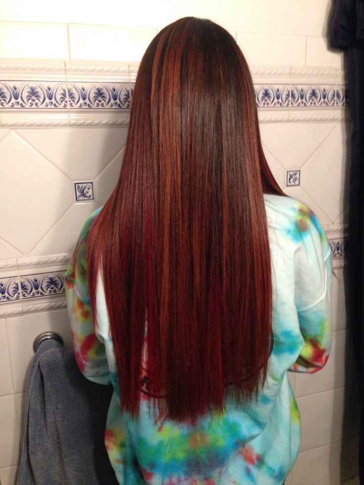 Trendy Ideas For Hair Color Highlights Red Hair With Highlights