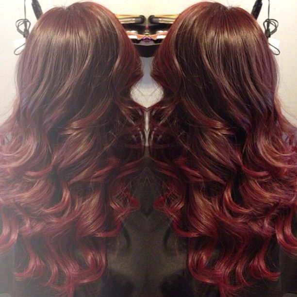 Trendy Ideas For Hair Color Highlights Red Ombre Like It But