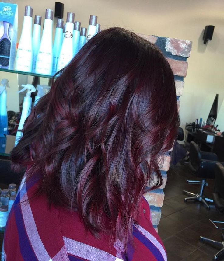 Trendy Ideas For Hair Color Highlights Red Violet Balayage