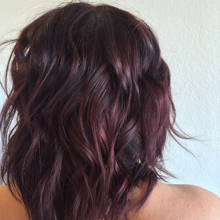 Salon Red La On Instagram From Deep Brown To Burgundy Wine Color By Carolyne
