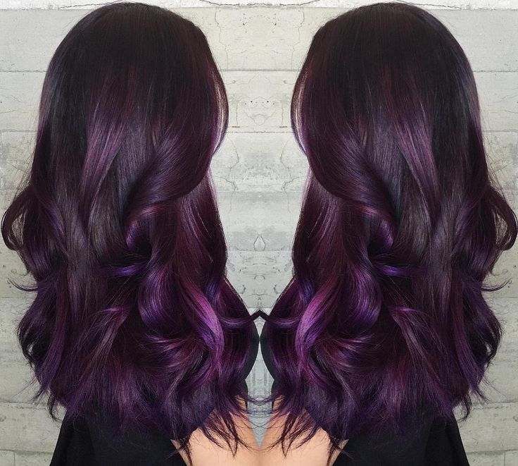 Trendy Ideas For Hair Color Highlights Sweet Plum By