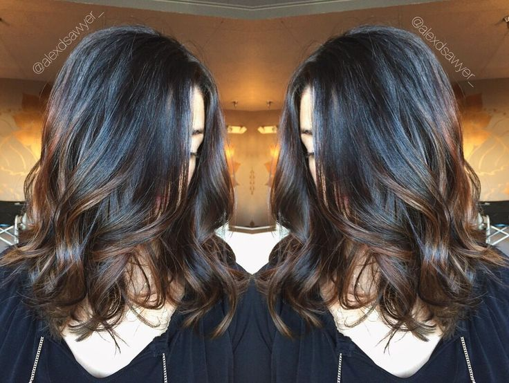 Trendy Ideas For Hair Color Highlights Warm Brunette Balayage
