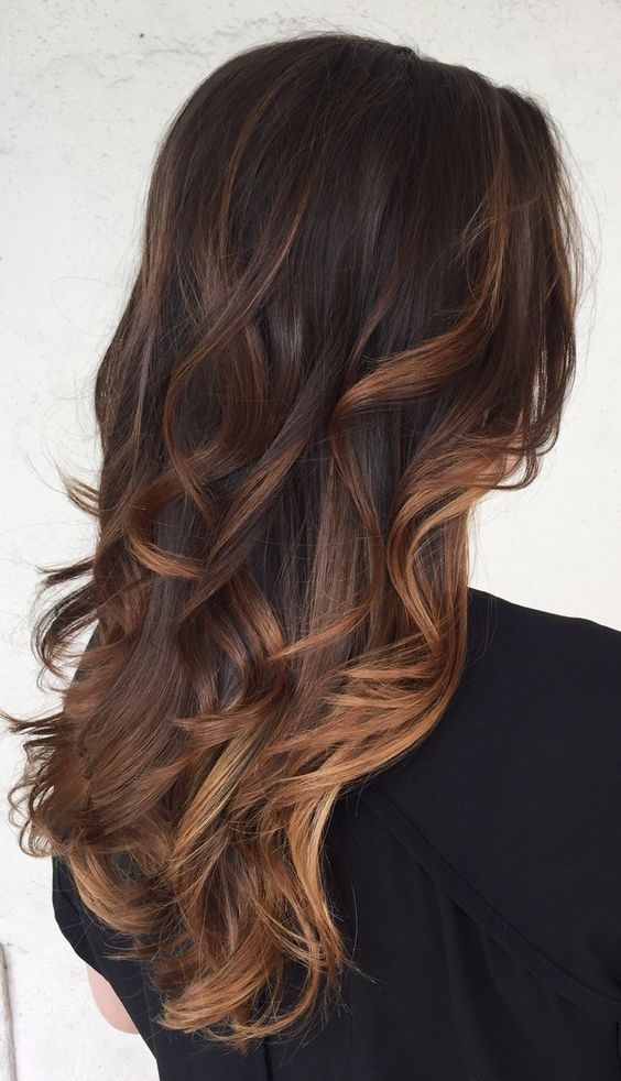 Trendy Ideas For Hair Color Highlights Balayage Caramelo5 Ms