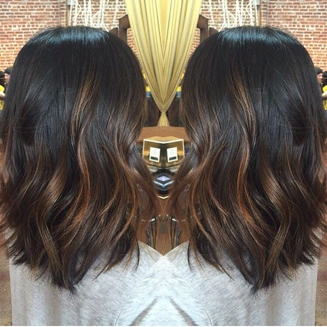 Trendy Ideas For Hair Color Highlights Balayage Hair Dark Brown