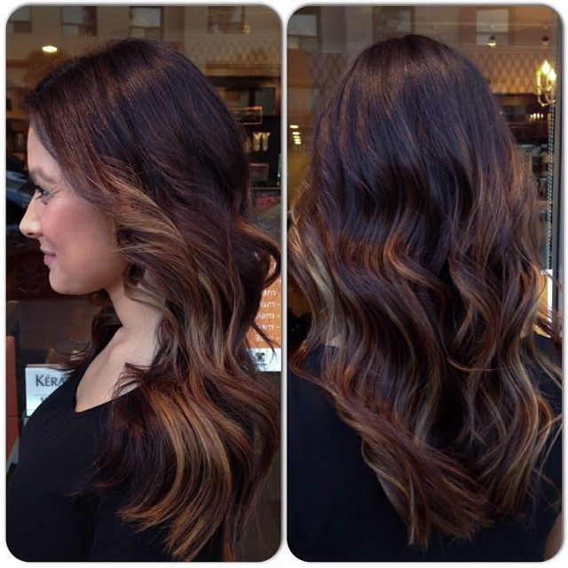 bayalage ombre highlights I want!