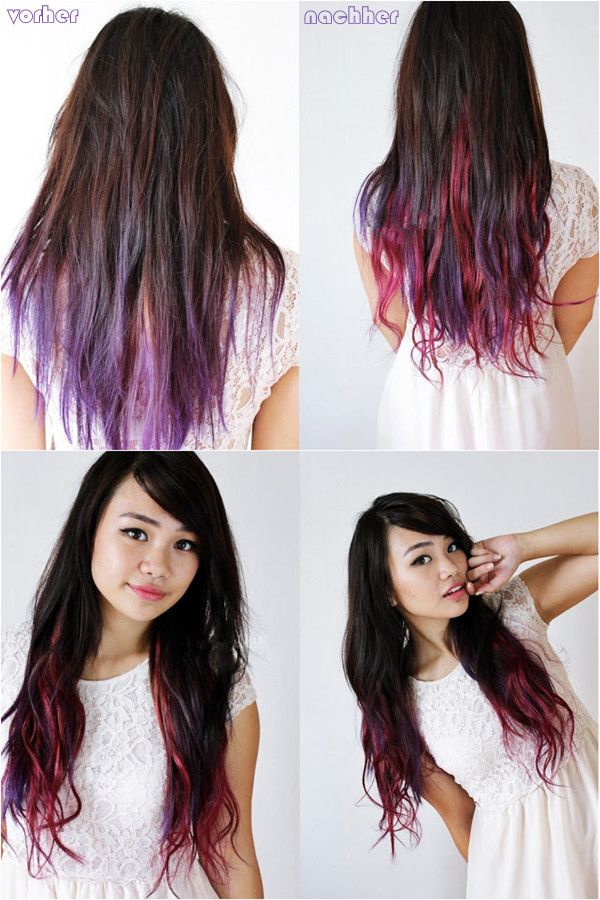 Trendy Ideas For Hair Color Highlights Beautiful Girl Lilac Red