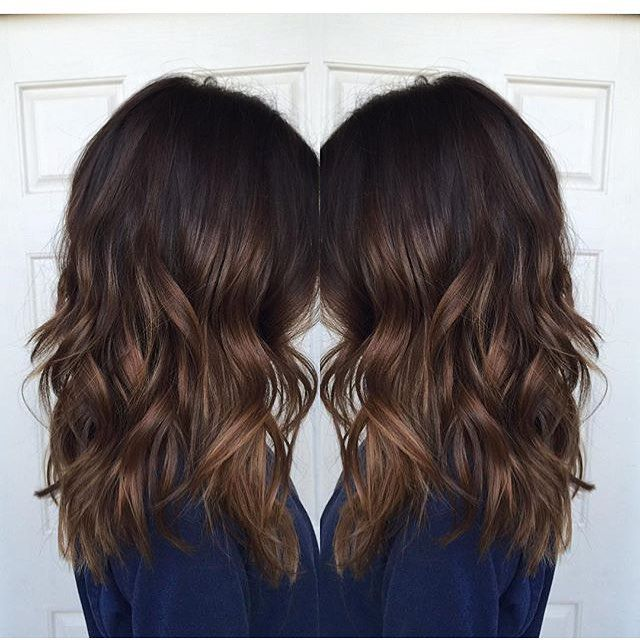 Trendy Ideas For Hair Color Highlights Brunette Highlights