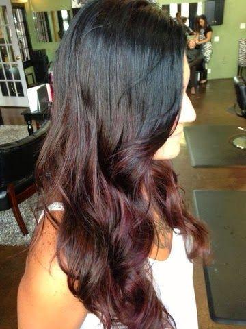Trendy Ideas For Hair Color Highlights Dark Hair Auburn Ombre Red