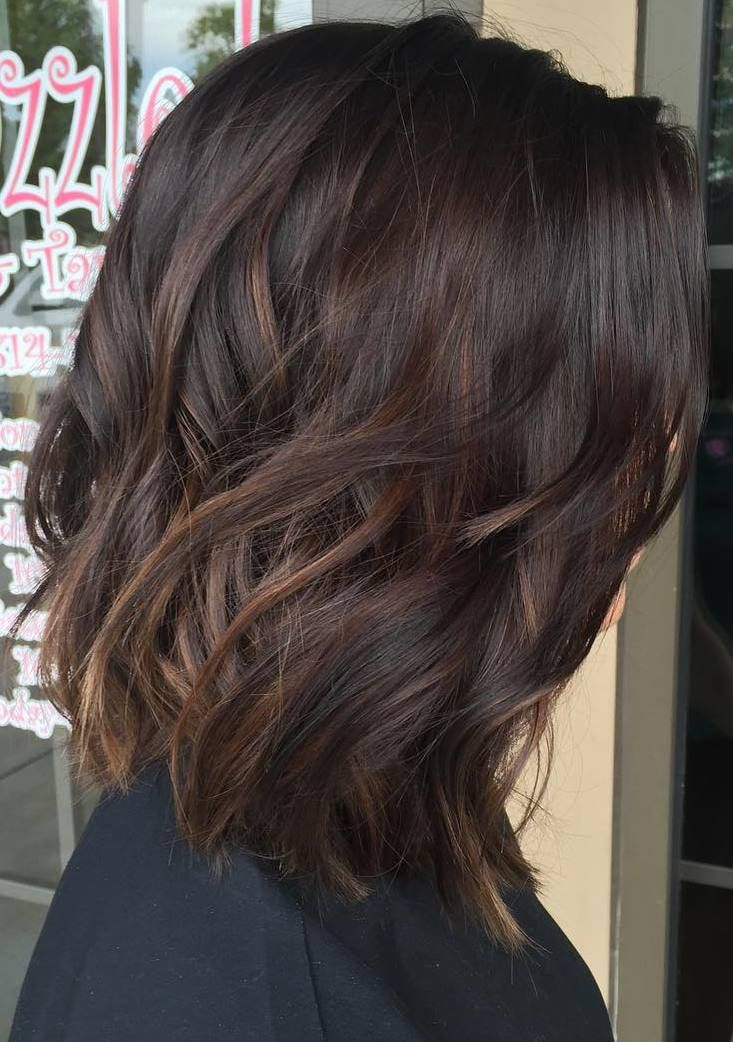 Trendy Ideas For Hair Color Highlights Mediumdarkbrownhair