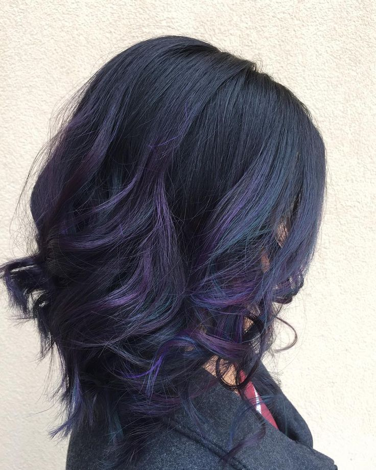Trendy Ideas For Hair Color Highlights Oil Slick Hair More